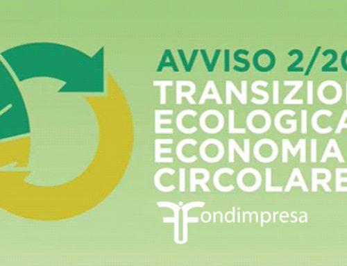 Avviso 2/2021 – Transazione ecologica e Economia Circolare (Italia)